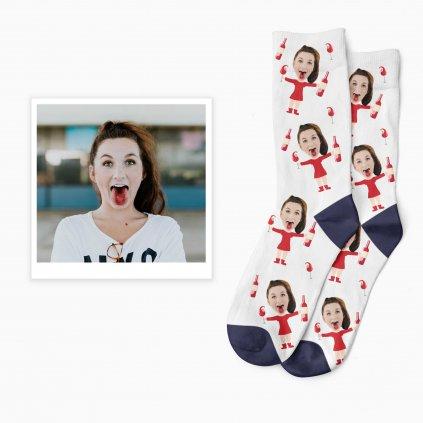 vinné ponožky