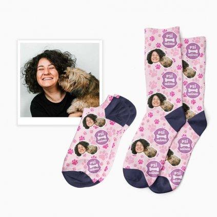 vlastní psí máma ponožky
