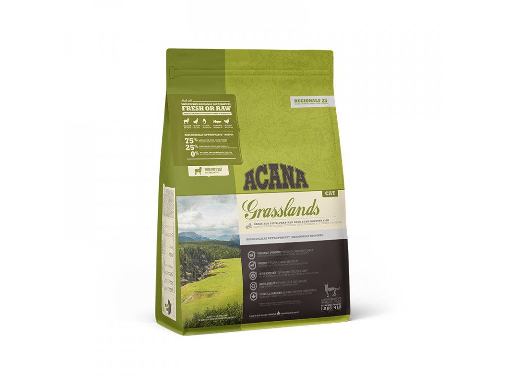 ACANA GRASSLANDS CAT 1,8 kg REGIONALS