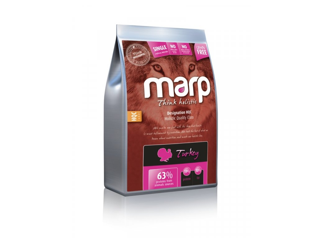 Marp Holistic Turkey S&L - krůtí senior&light bez obilovin 2kg