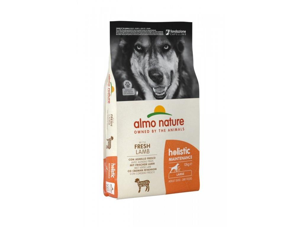Almo Nature Holistic DRY DOG - L - Dospělý - Jehně a rýže 12kg
