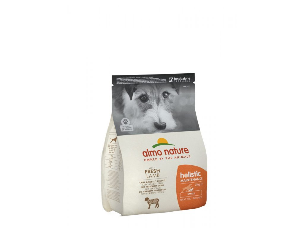 Almo Nature Holistic DRY DOG - S - Dospělý - Jehně a rýže 2kg