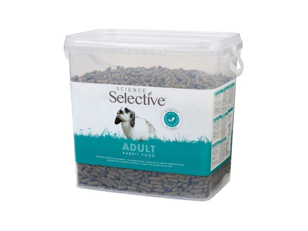 Supreme Science®Selective Rabbit - králík adult 3 kg kbelík