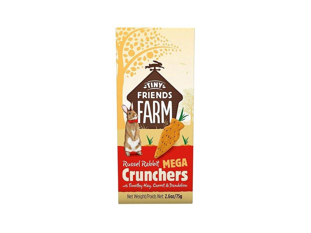 Supreme Tiny FARM Snack Mega Crunchers - králík 3 ks, 75 g