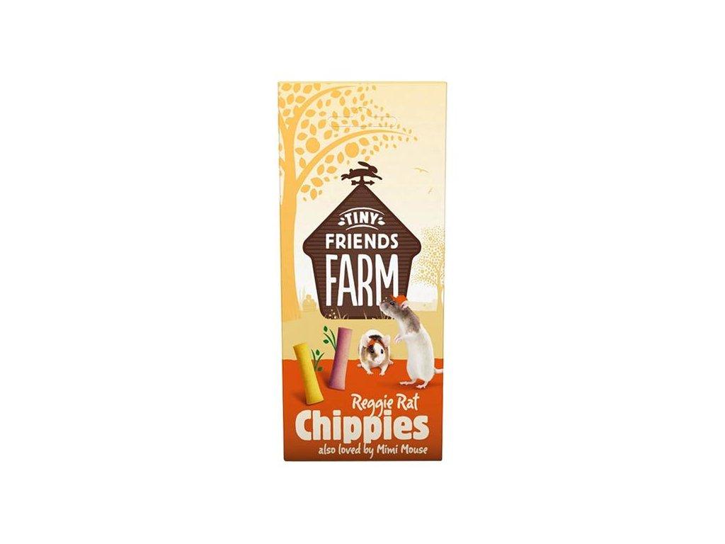 Supreme Tiny FARM Snack Reggie Chippies - potkan 120 g