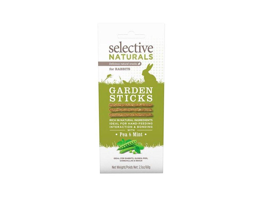 Supreme Selective Naturals snack Garden Sticks 60g