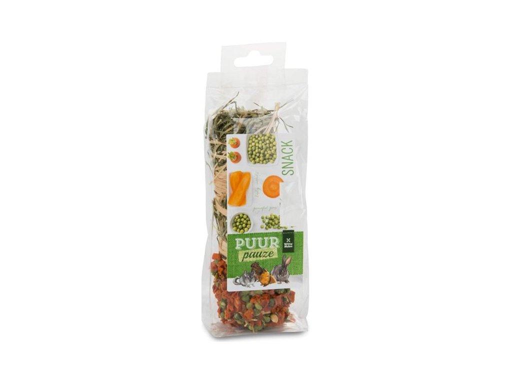 PUUR pauze dr.savec - senná tyčka, mrkev+hrášek 70 g
