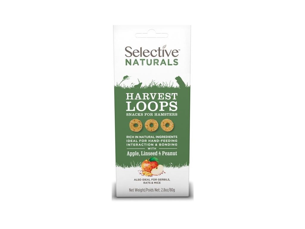 Supreme Selective Naturals snack Harvest Loops 80 g