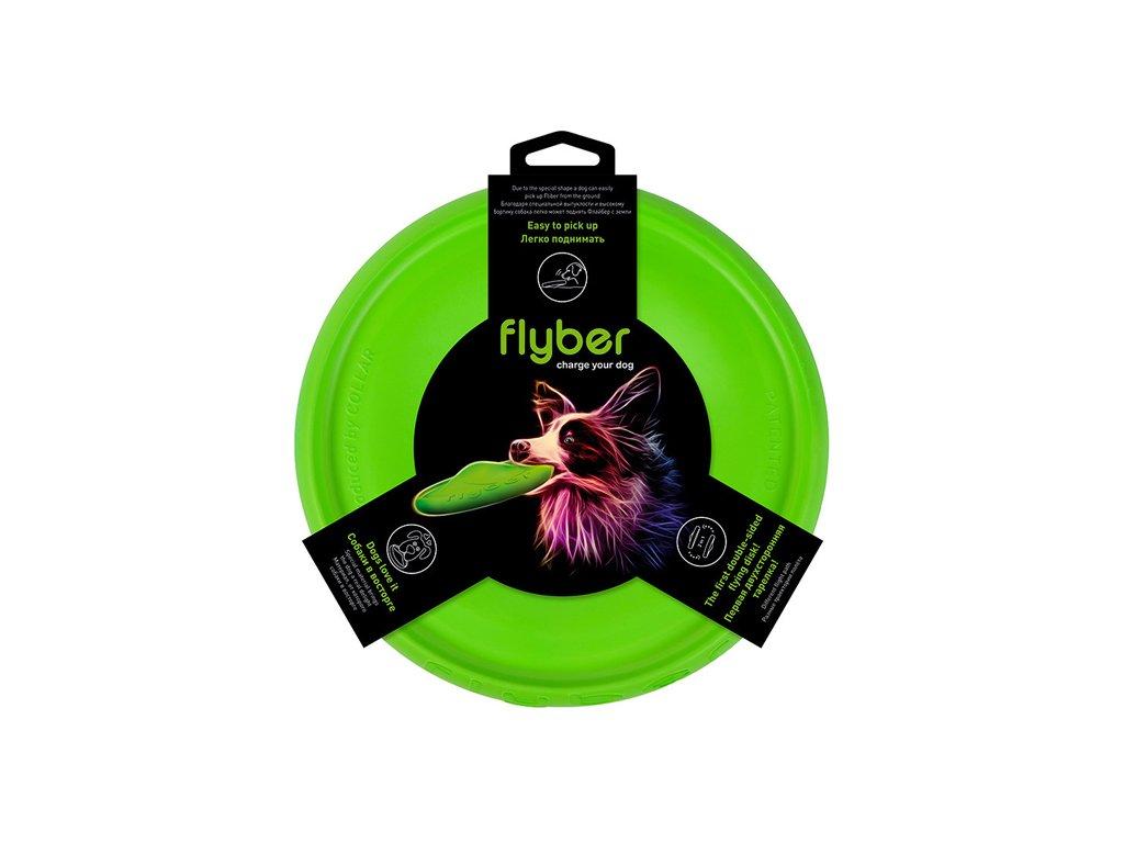Flyber - oboustranný létající disk 22cm