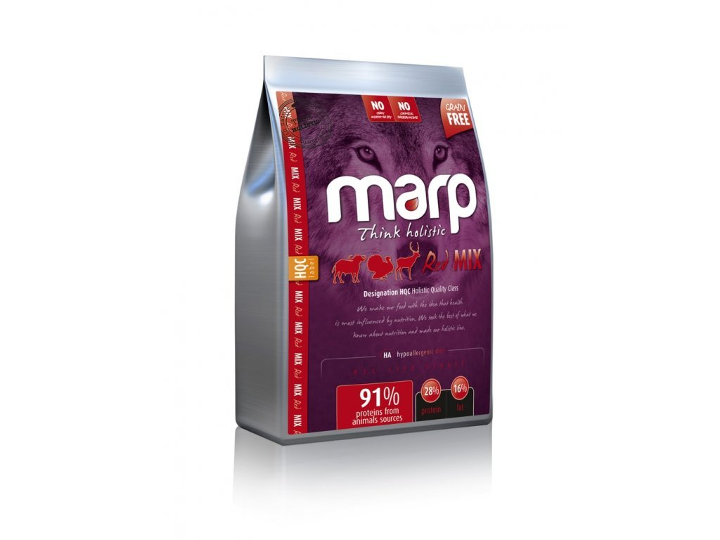 61962 3 marp holistic red mix grain free baleni 2 kg