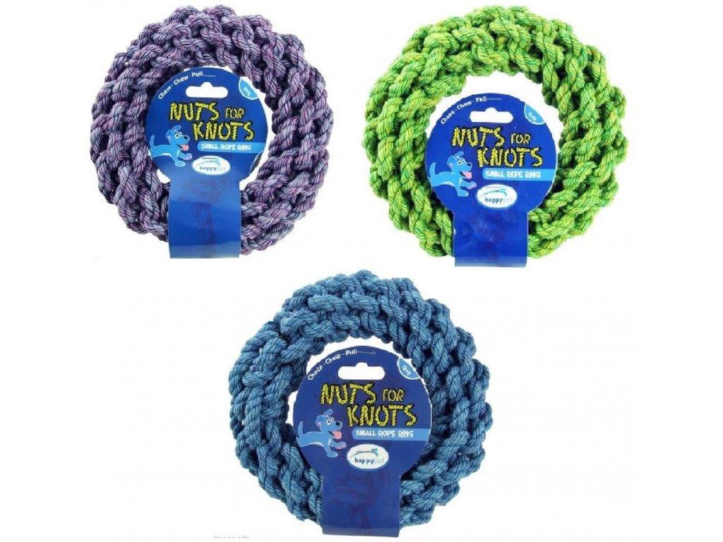 Bavlněný kruh rope ring pull L