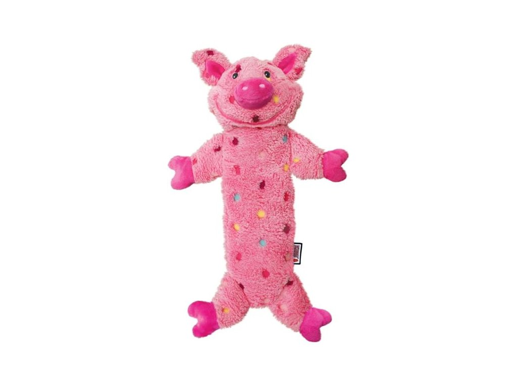 Hračka plyš Stuff Pig L Kong