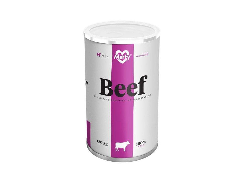 MARTY konz. pro psy - Essential hovězí 1200 g