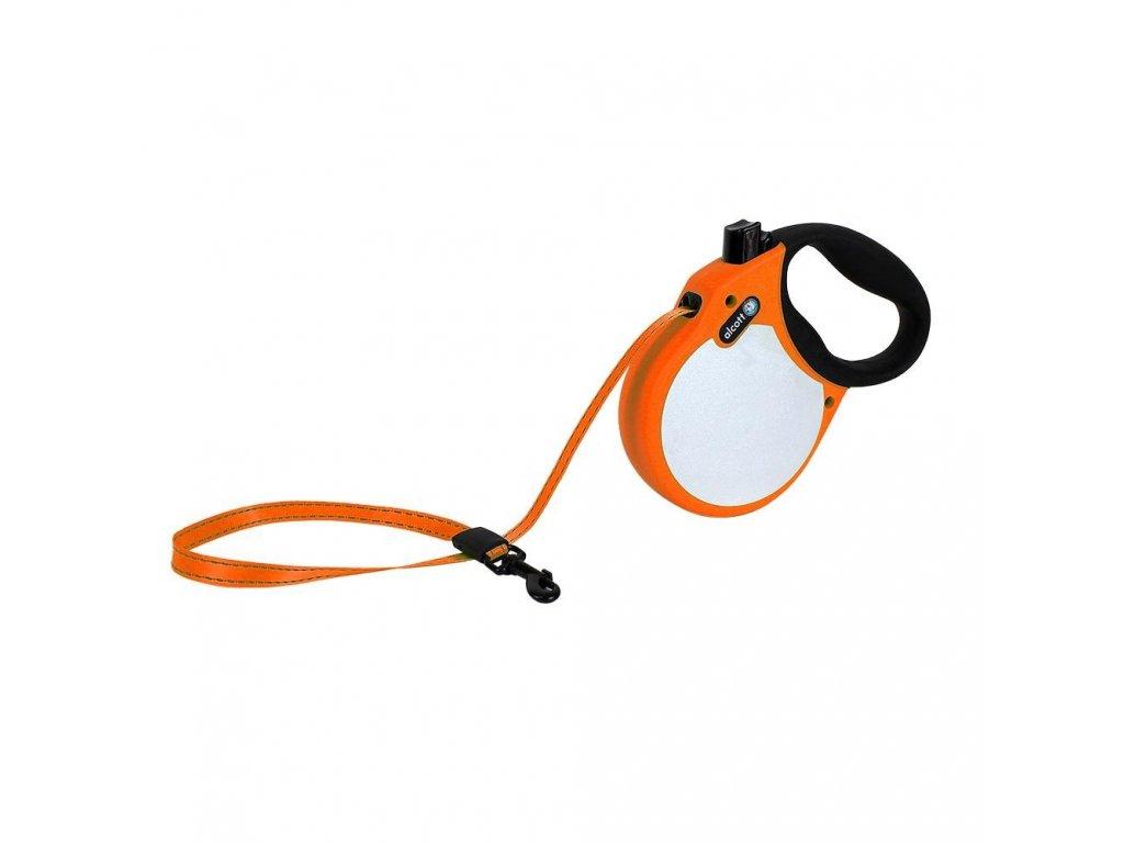 Alcott Vodítko, Visibility, neonové oranžové, velikost M