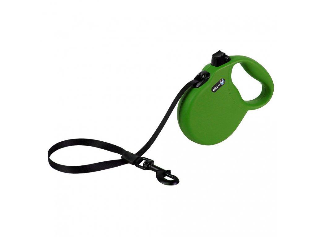Alcott vodítko, Wanderer, zelené, velikost S