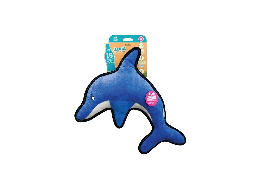 Beco Rough and Tough Hračka pro psy Delfín David L