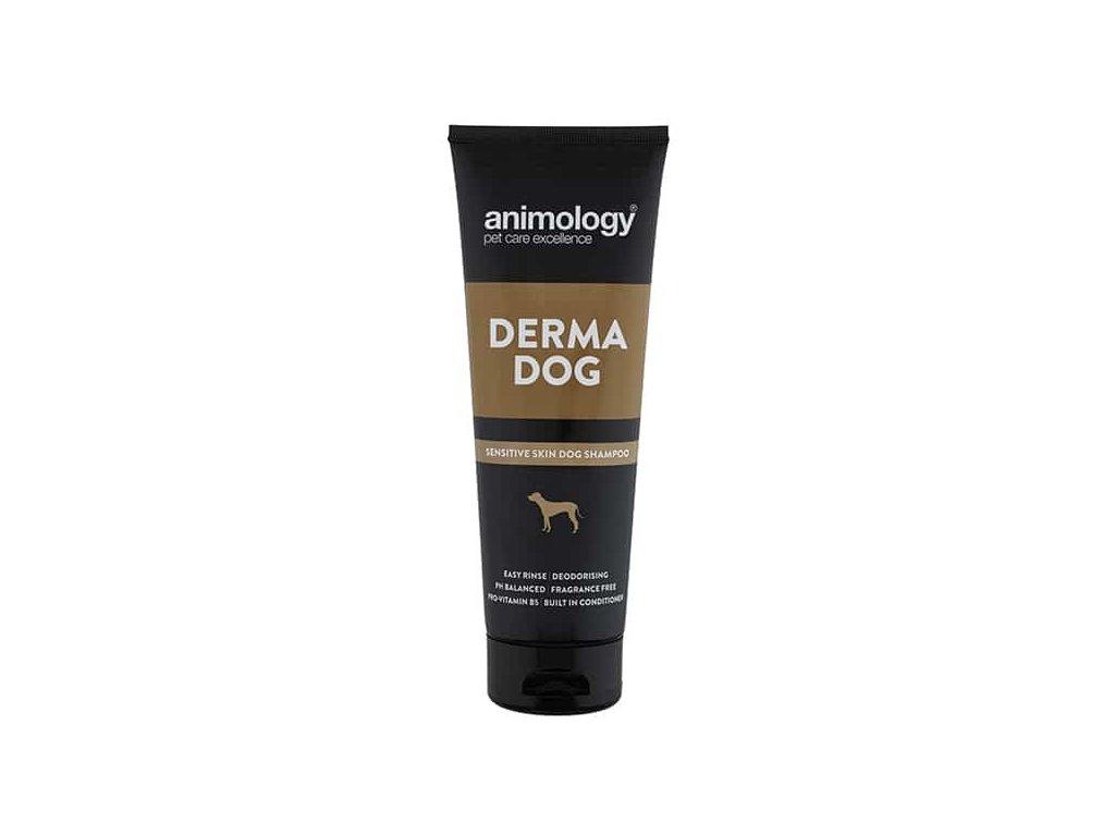 ANIMOLOGY Šampon na citlivou pokožku Derma Dog, 250ml