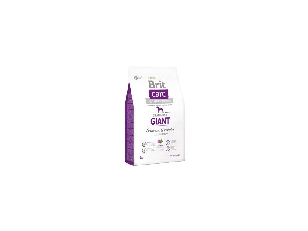 Brit Care Dog Grain-free Giant Salmon & Potato 3kg