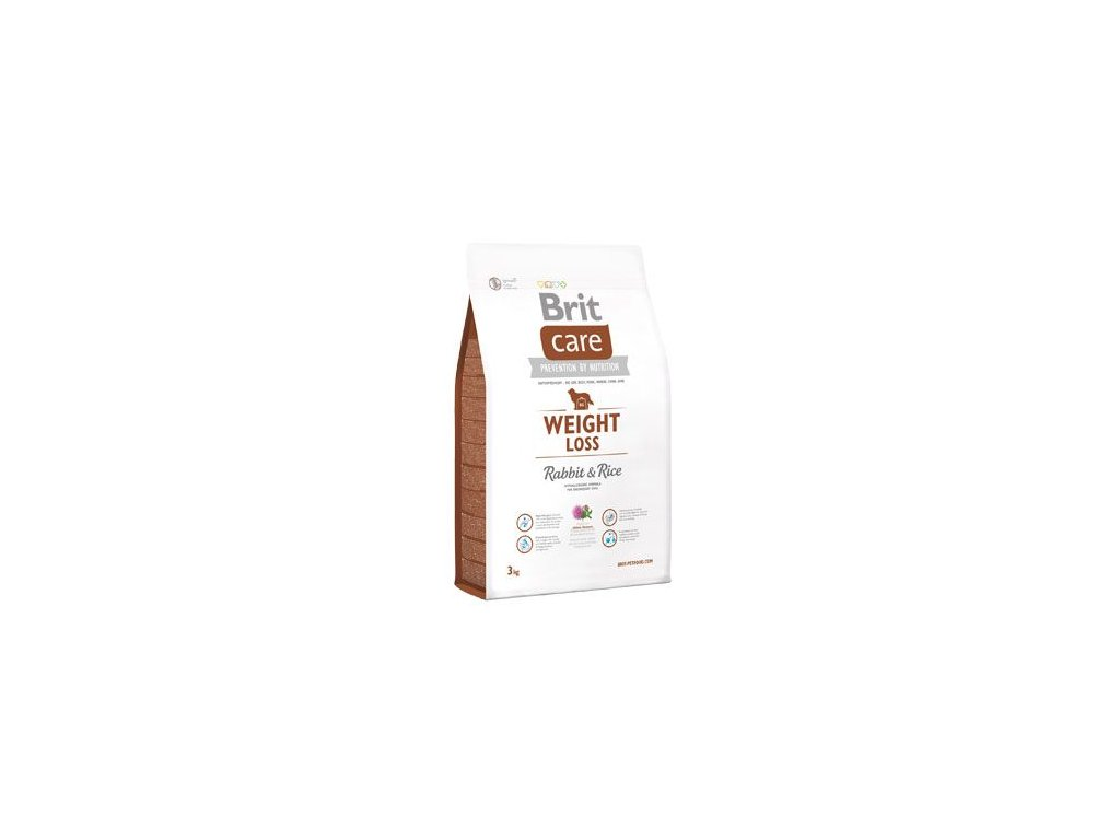 Brit Care Dog Weight Loss Rabbit & Rice 3kg