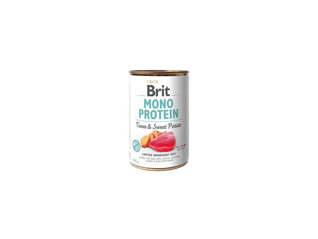 Brit Dog konz Mono Protein Tuna & Sweet Potato 400g