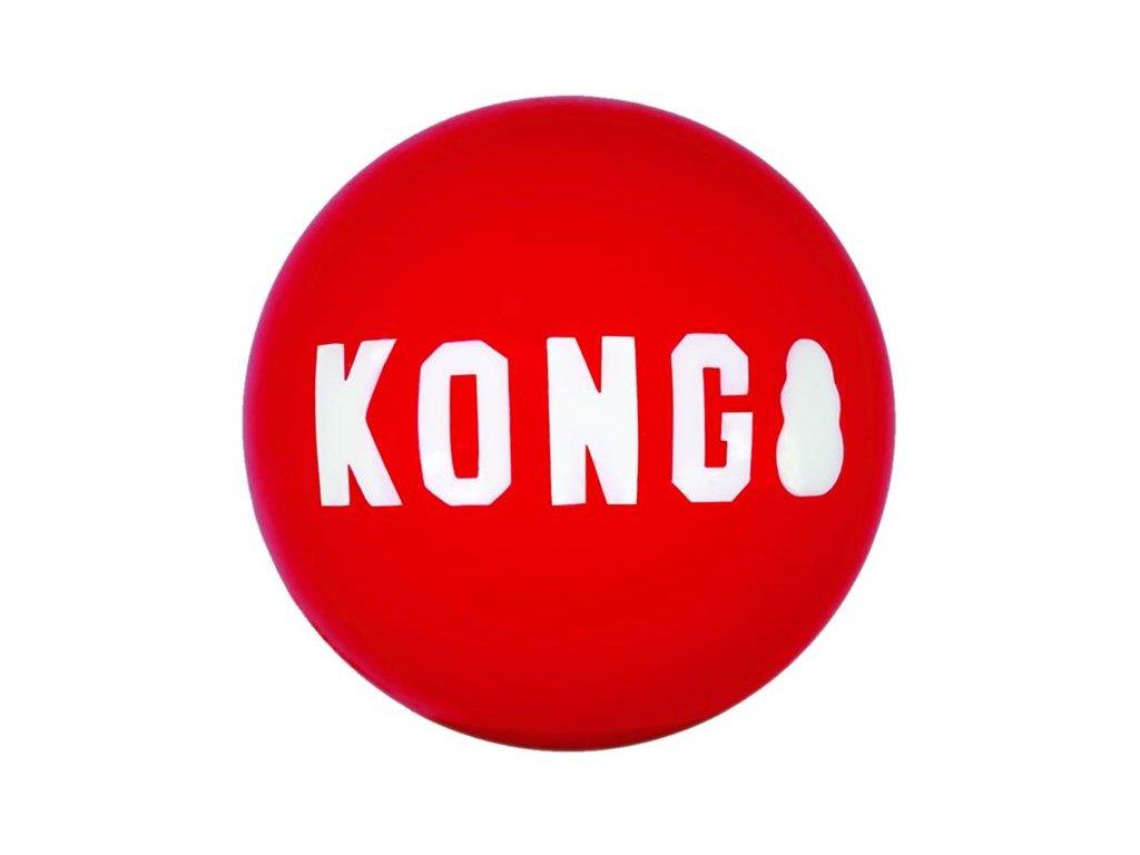 Hračka guma Signature míč 2ks S Kong
