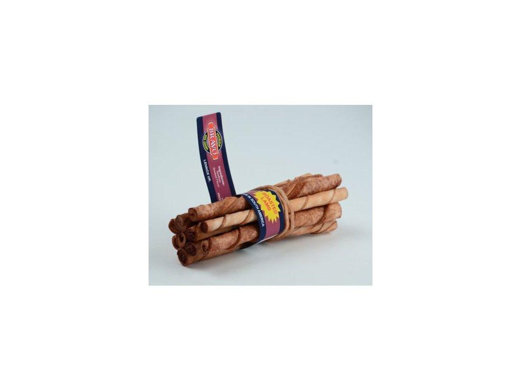 Tyčka z hovězí kůže Lamb 10ks – jehněčí – 14 cm