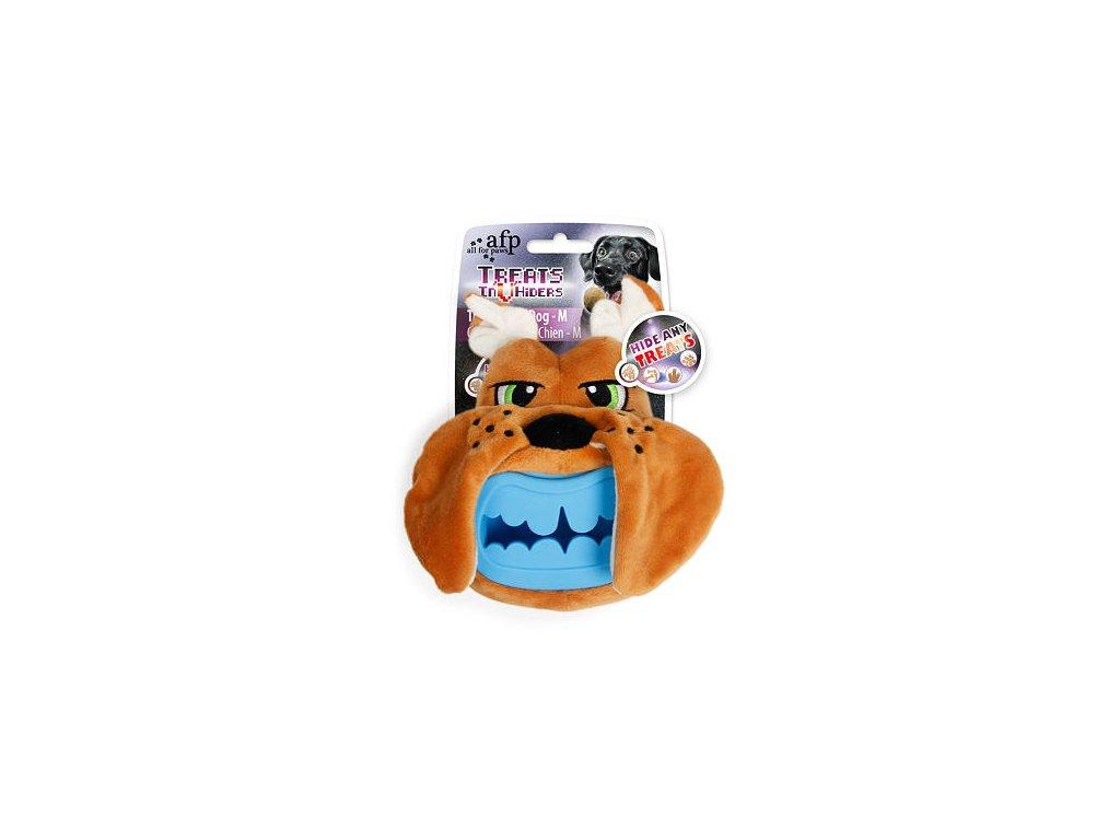 Plyšová hračka na pamlsky AFP Treat Hider Pes – M