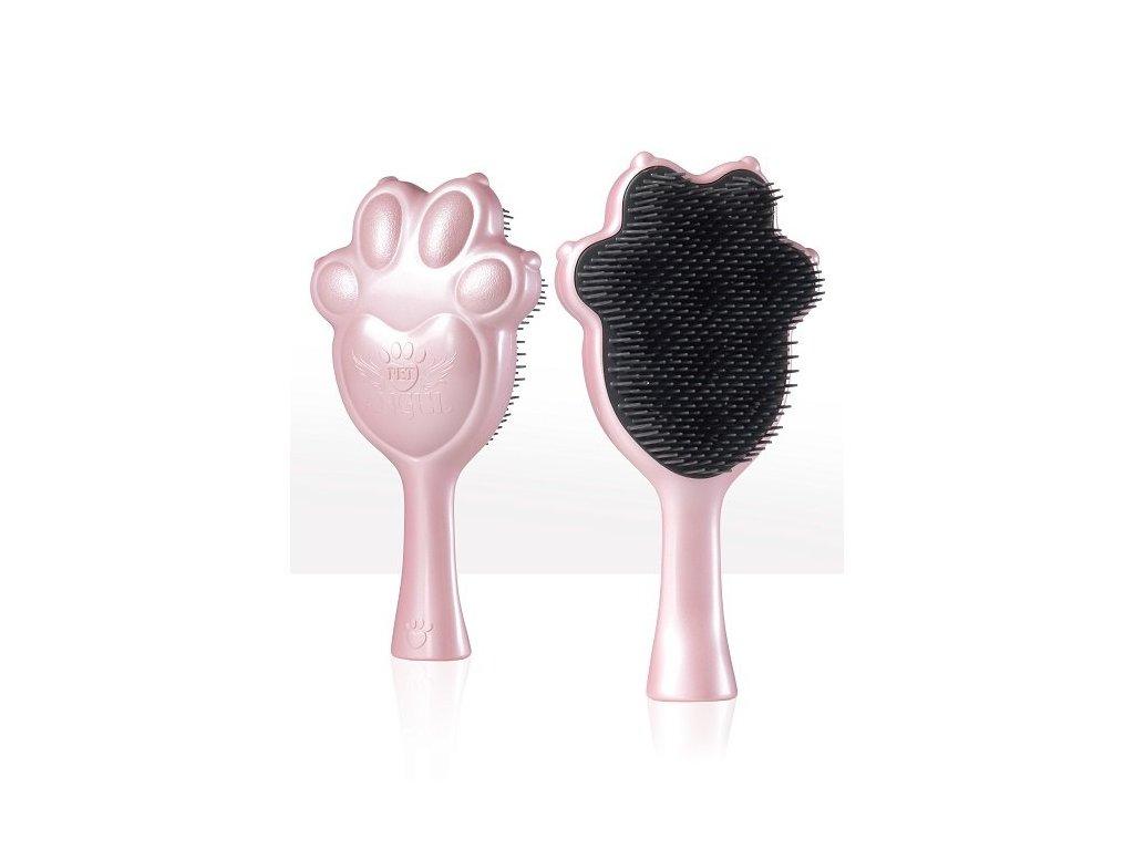 Pet Angel kartáč pro psy a kočky, růžový
