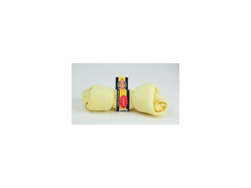 Uzel z hovězí kůže Cheese – sýr – 17 cm