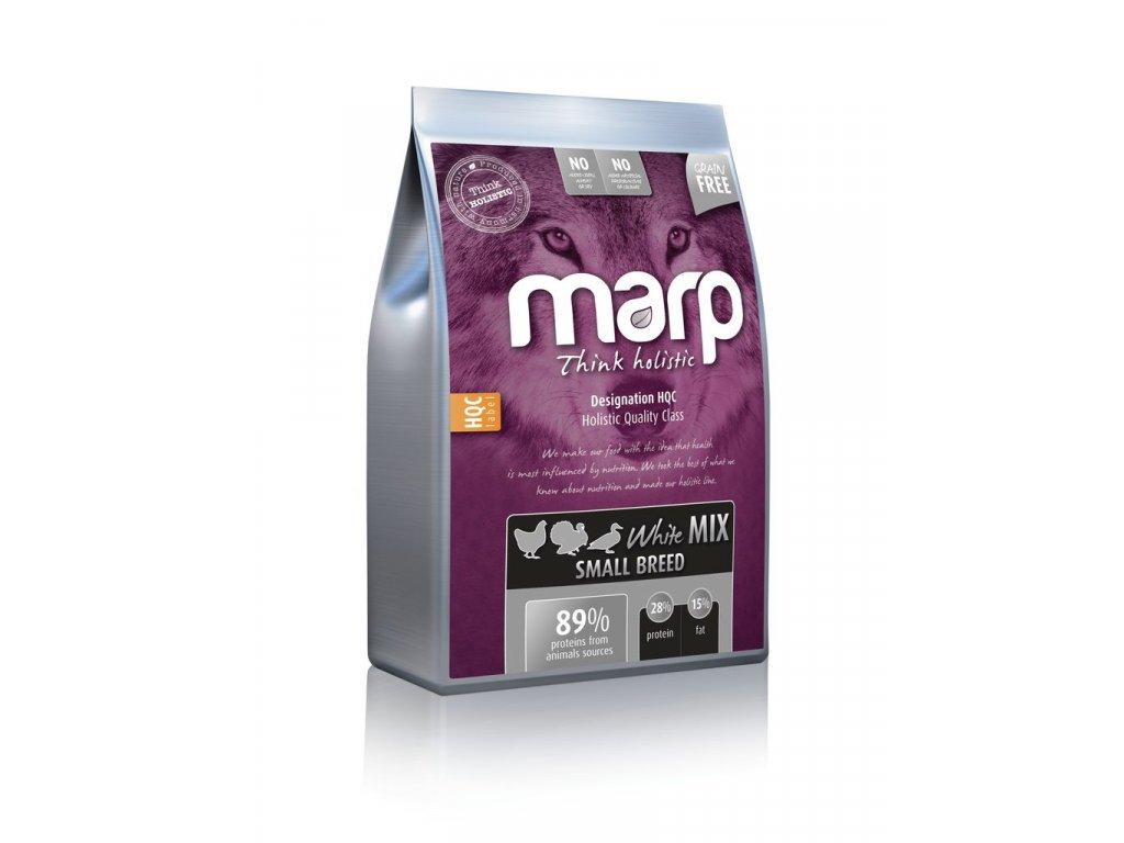 Marp Holistic White Mix SB - pro malá plemena bez obilovin 12kg + pamlsky ZDARMA