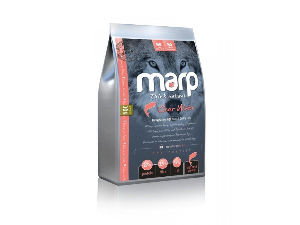 Marp Natural Clear Water - lososové 12kg + pamlsky ZDARMA