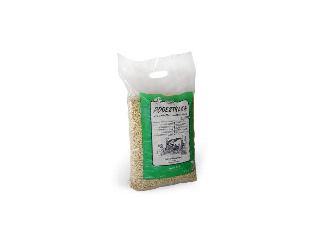 LIMARA dřevěná podestýlka, 14l/7kg