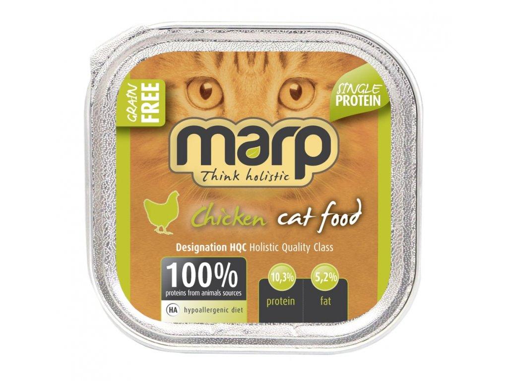 Marp Chicken vanička pro kočky s kuřecím 100g