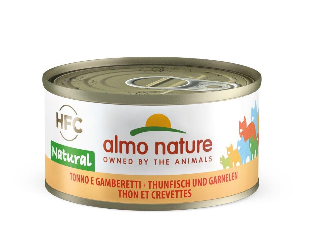 Almo Nature HFC - Tuňák a krevety 70g