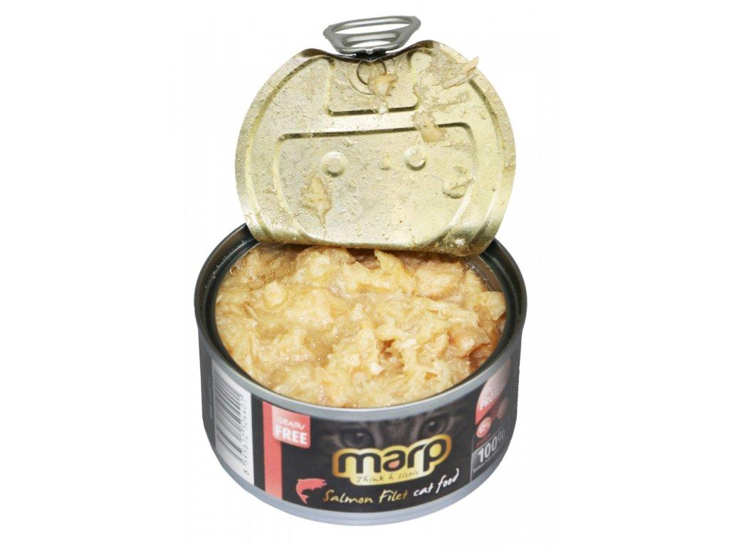 Marp Salmon Filet konzerva pro kočky s filety z lososa 70g