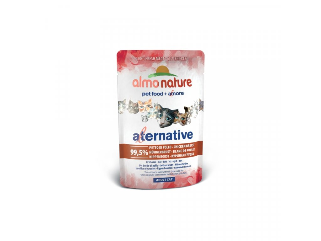 Almo Nature HFC Natural Plus - Kuřecí prsa 55g