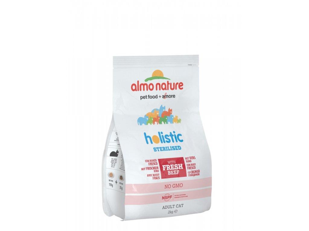 Almo Nature Functional Dry - Sterilised Hovězí a rýže 2kg