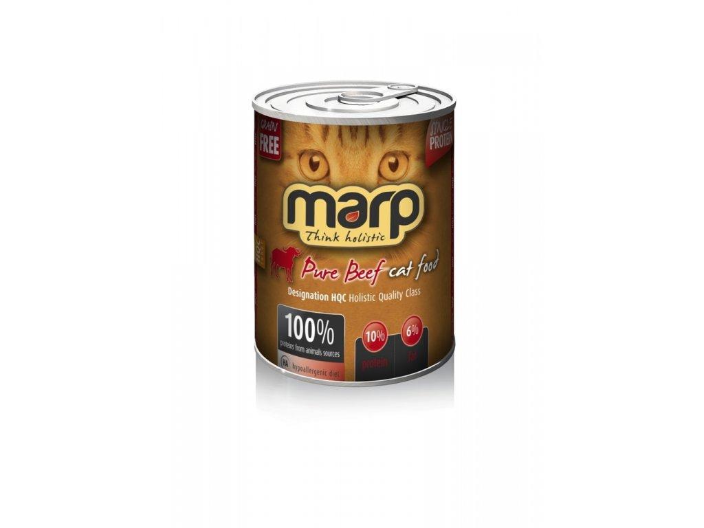 Marp Beef konzerva pro kočky s hovězím 400g