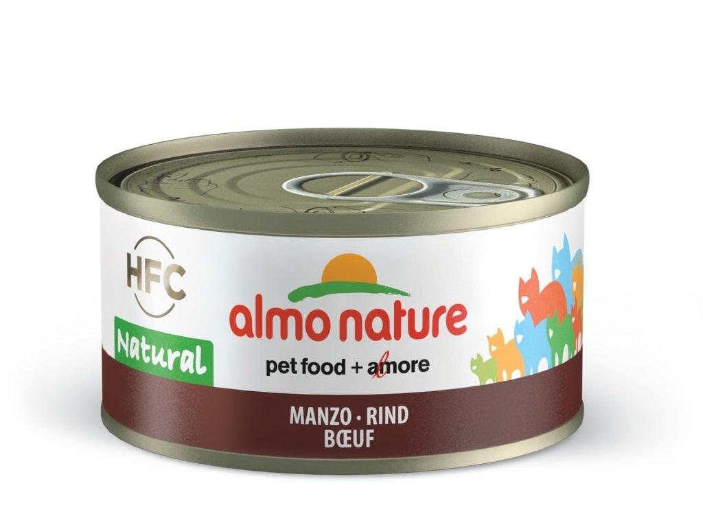 Almo Nature HFC WET CAT- Hovězí 70g