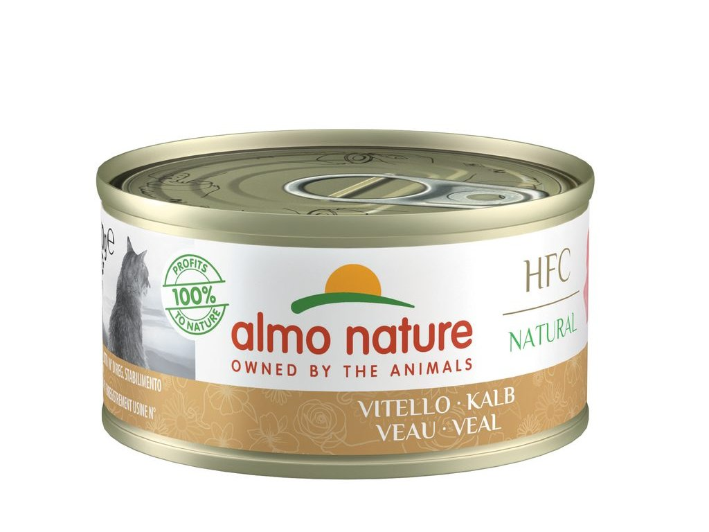 Almo Nature HFC WET CAT- Telecí 70g