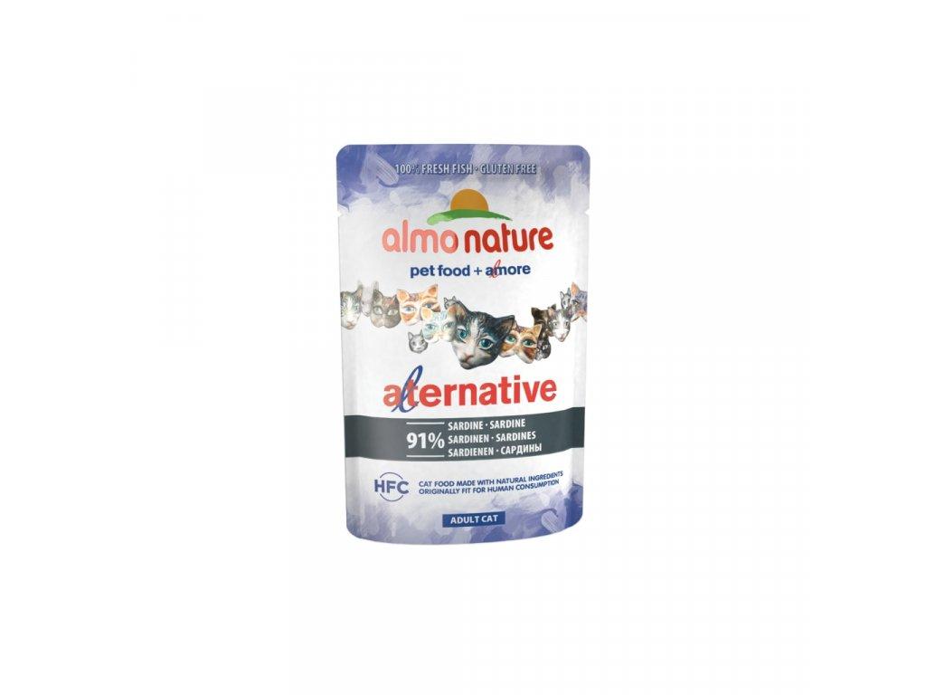 Almo Nature HFC Natural Plus - Sardinky 55g