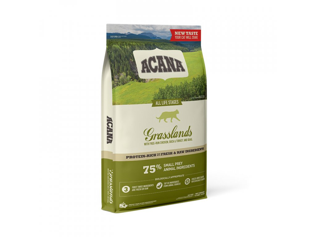 ACANA GRASSLANDS CAT 4,5 kg GRAIN-FREE