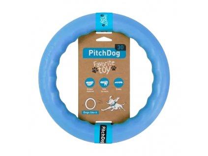 PitchDog tréninkový Kruh pro psy modrý 20cm