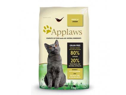 Applaws granule Cat Senior Kuře 7,5kg