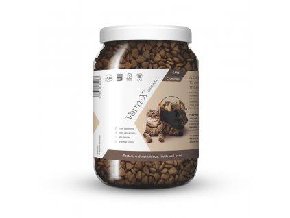 Verm-X Přírodní granule proti střevním parazitům pro kočky 1kg
