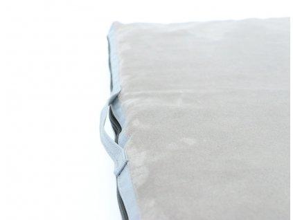 Matrace Aminela - 100x100x5cm Travel šedá/šedá