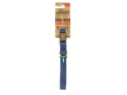 Farm Company ekologicky šetrný obojek pro psy ze sojových vláken 2,5cm/42-65cm námořnická modrá