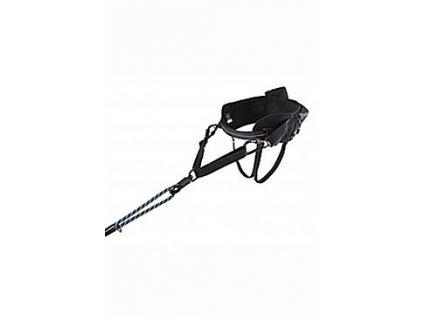 Pás Hurtta Hiker Belt černý 75-120cm