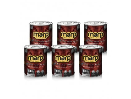 Marp Venison konzerva pro psy se zvěřinou 6x800g
