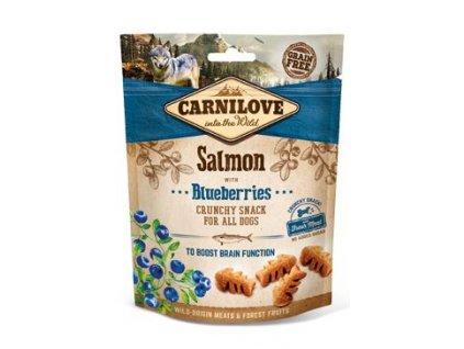 Carnilove Dog Crunchy Snack Salmon&Blueberries 200g